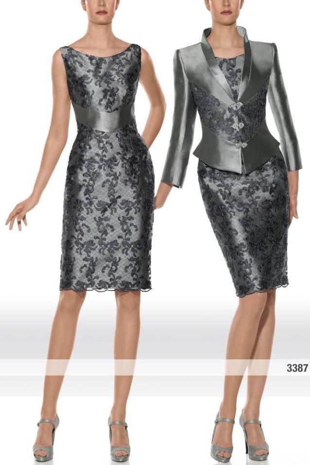 Traje de chaqueta de alta costura modelo 3387 Teresa Ripoll by ...