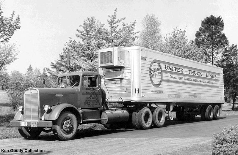 Old Semi Truck Trailer Gallery With Images Trucks Kenworth