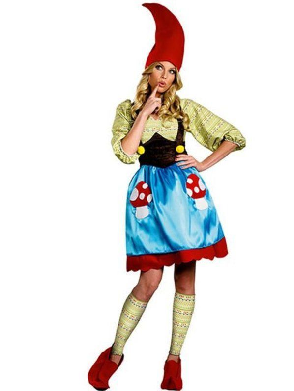 Womens Plus Size Ms. Gnome Costume #gnomecostume