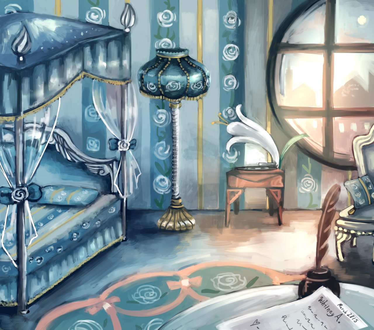 Theologicallyy: Animal Crossing Room With Princess Furniture. One Of My  Favorite Sets!