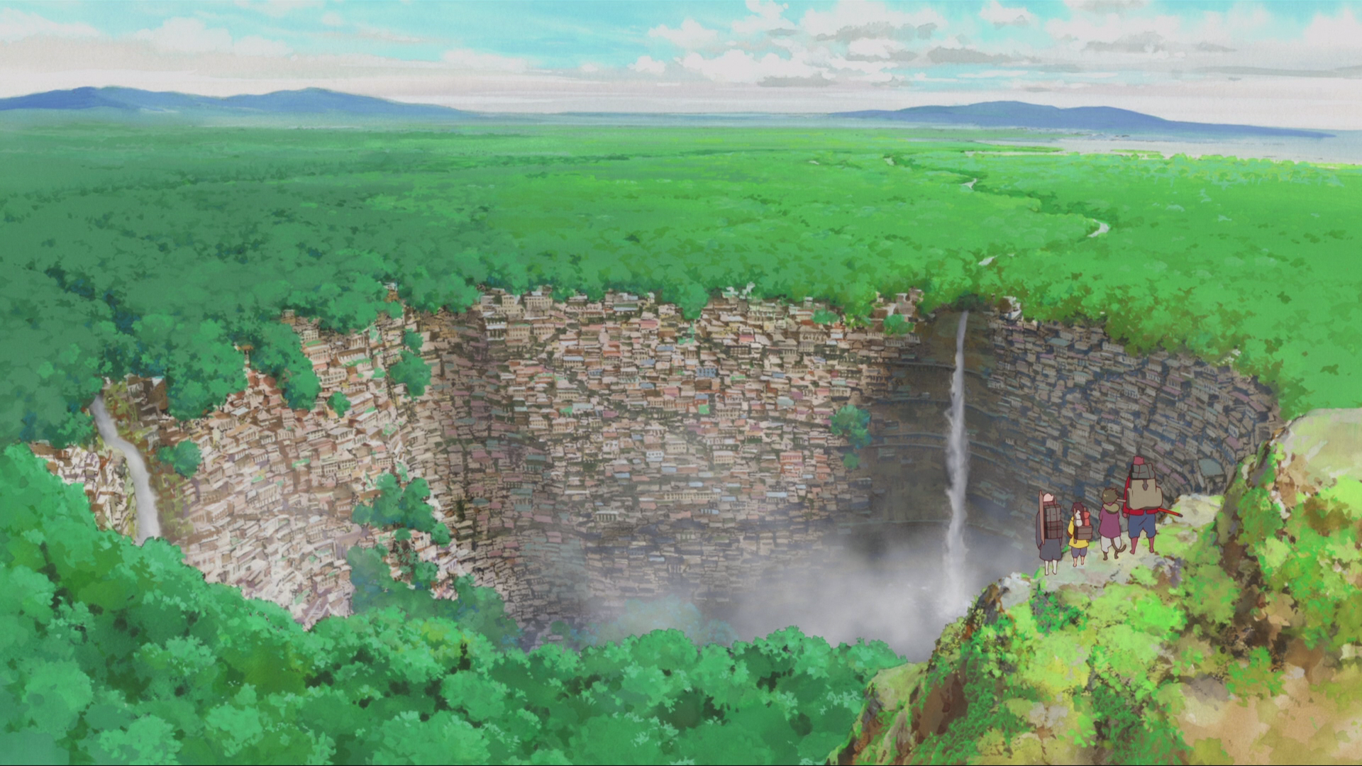 Anime The Boy And The Beast Bakemono No Ko Landscape Forest