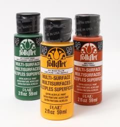 FolkArt  Multi-Surface Paints | Dishwasher safe!