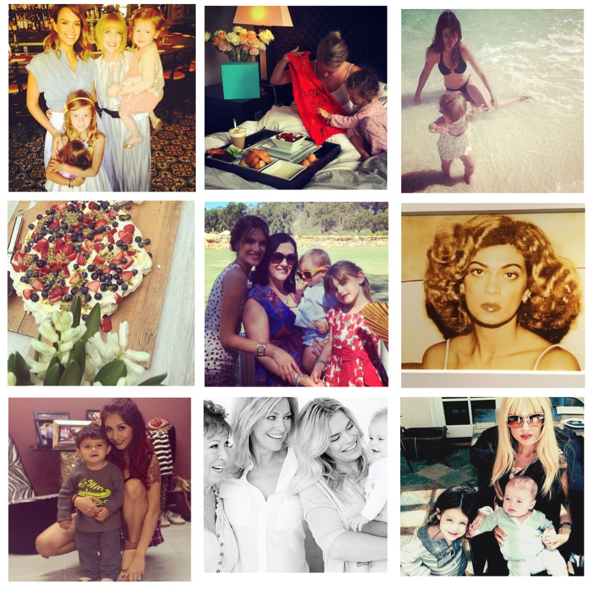 Celebrity moms Celebrating Mother's day! A lot of celebrity mommy daughter moments on Instagram #Mothersday @ http://www.pretamama.com/celebs/6723-celebrity-moms-celebrating-mothers-day