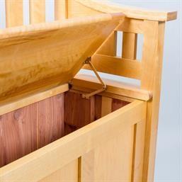 Birch Deacon S Bench At Woodmonkey Custom Wood Furniture