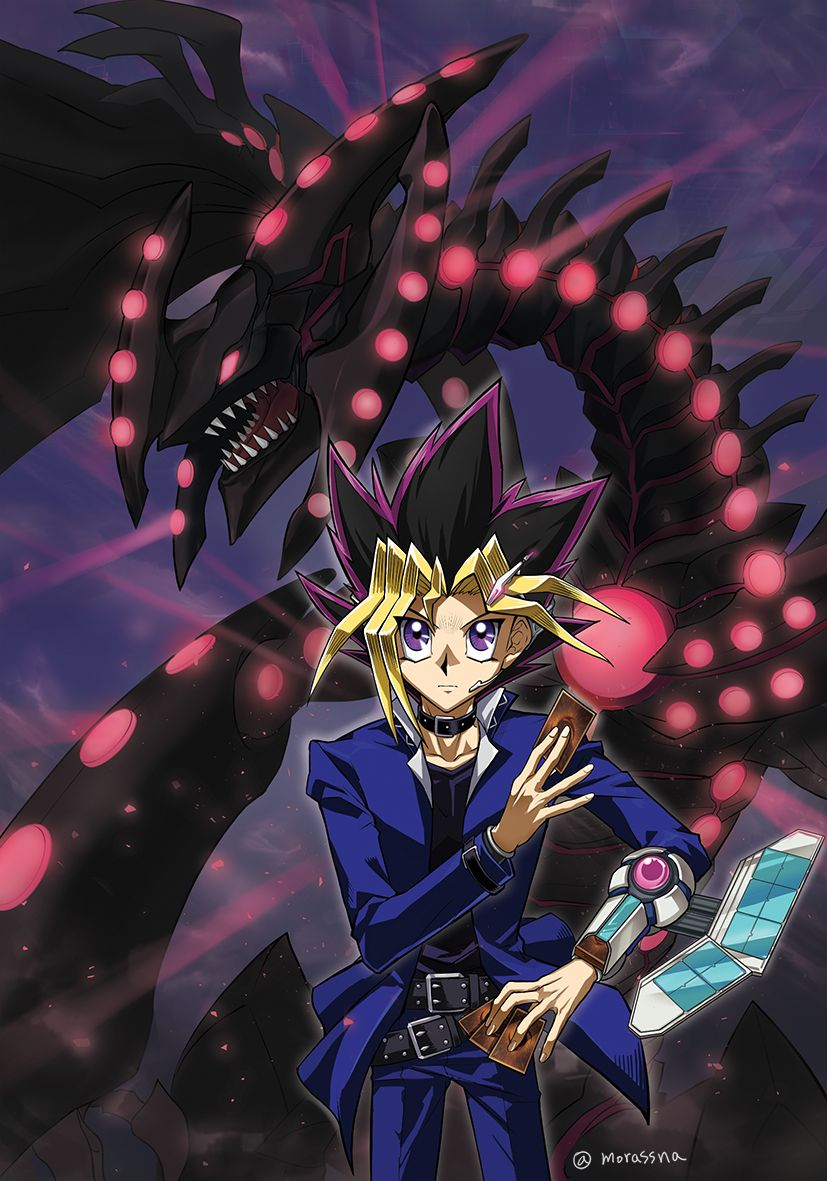 Pin By Joud On Yuugi Mutou Anime Anime Wallpaper Iphone Yugioh Monsters