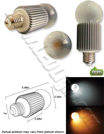 Standard 12 Volt Ultra Bright 7 Smd Led Ac Dc E27 Ncnrnw Lumen Output 510 White And 480 Warm White 50 60w Incandescent Equivalent 8 Bulb Led Lights Led Bulb