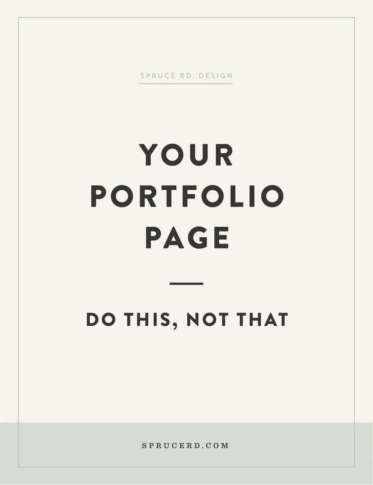 Your portfolio page Do this, not that is part of Web design quotes, Graphic design tips, Web design, Web design tips, Freelance graphic design, Portfolio - How to make sure your portfolio attracts your clients and encourages conversions on your website