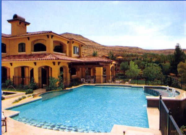 Nice Houses With Pools Classy Mansion With Swimming Pool  Swimming Pool Pictures  Photo Decorating Design