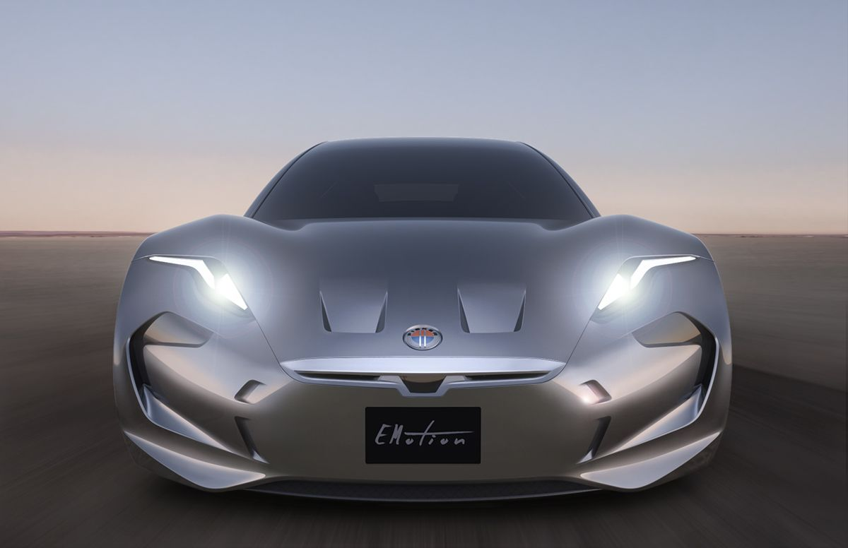 Here S Fisker Inc S First Car The All Electric Emotion Luxury Sport Sedan Electric Cars Sports Cars Luxury Car