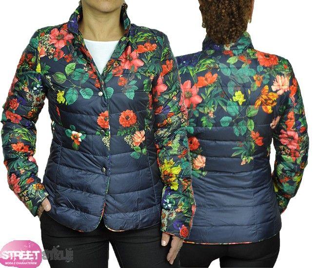 Licytacja Pikowana Kurtka Kwiatki Flowers Xl 42 4060596599 Oficjalne Archiwum Allegro Fashion Jackets Winter Jackets