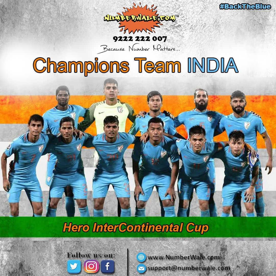 Well Done! Team #INDIA 🇮🇳️ Won Hero Continental Cup Title