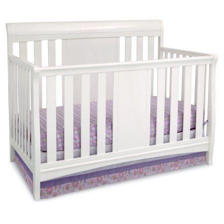 Delta Children Bennington Sleigh 4 In 1 Convertible Crib