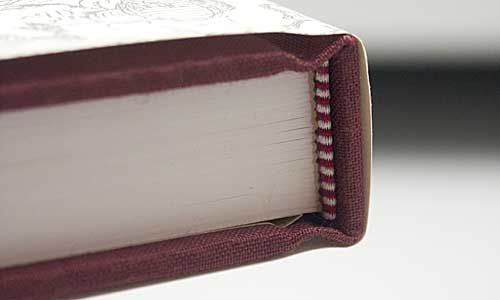 Case bound - The Rolls Royce of book binding