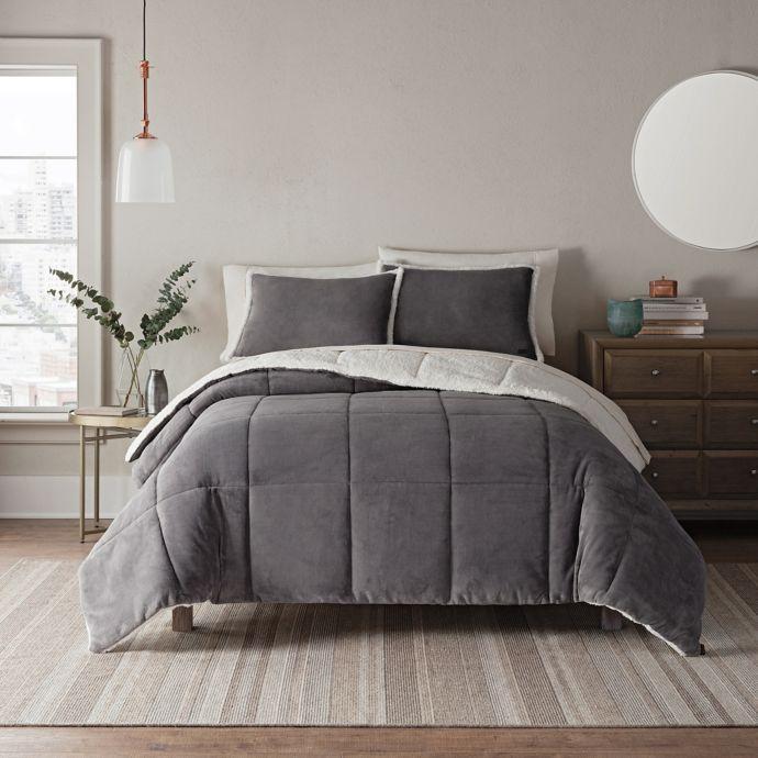 Ugg Clifton Reversible Comforter Set Bed Bath Beyond Catie