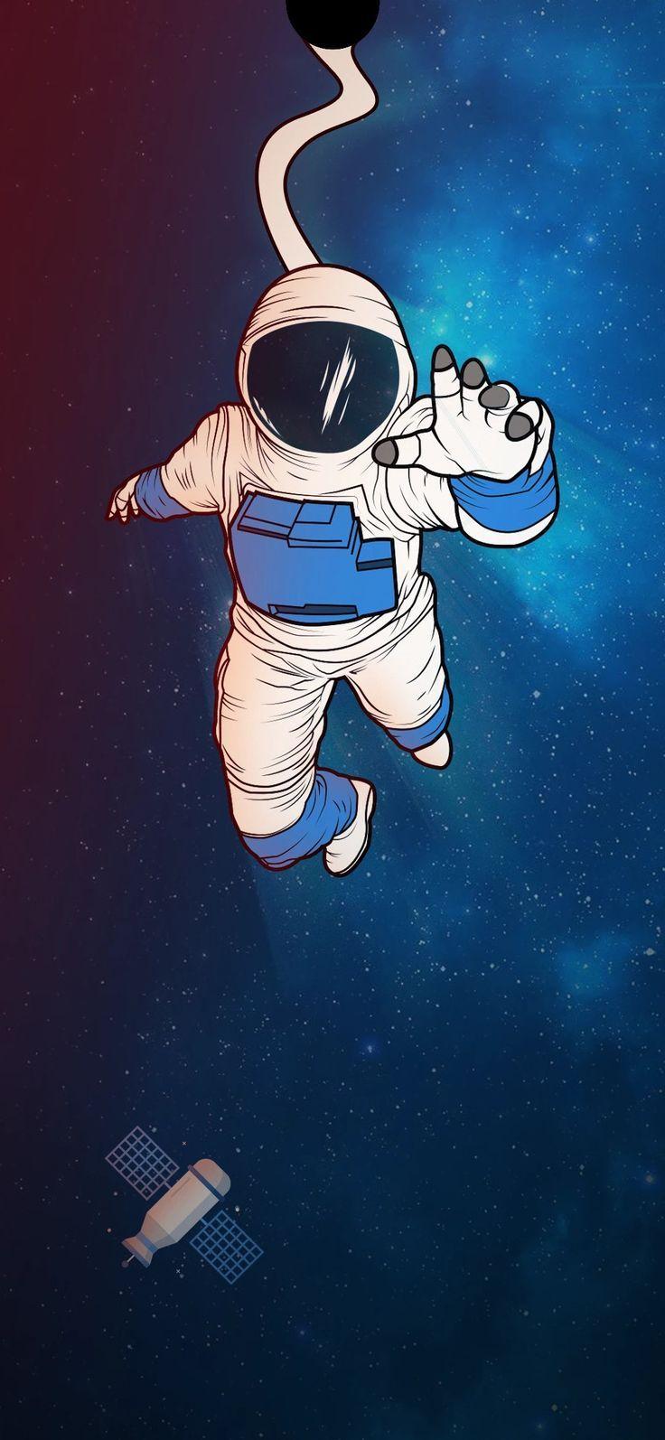 Best Notch Wallpaper 4k Astronaut Wallpaper Wallpaper Space Minimal Wallpaper