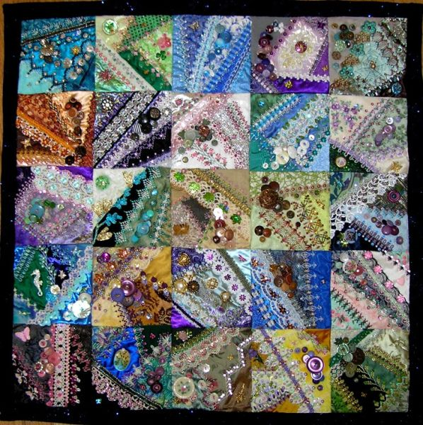 Button Quilt crazy quilting http://www.kittyandmedesigns.blogspot ... : crazy quilt blogs - Adamdwight.com
