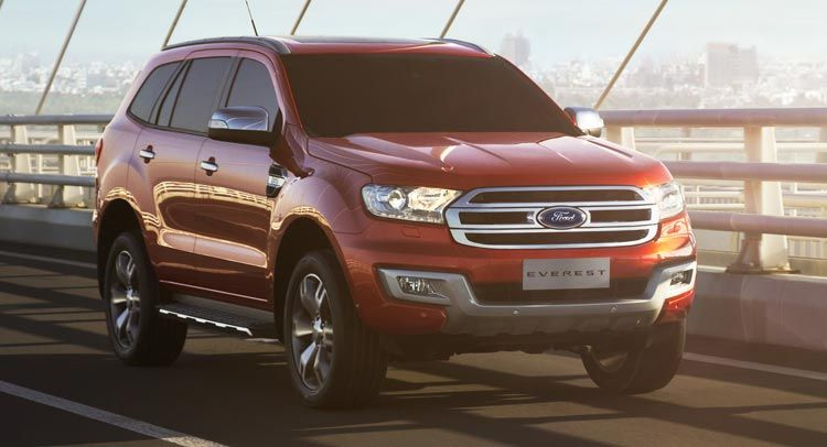 All New Ford Everest Launched In Thailand New Details Offered