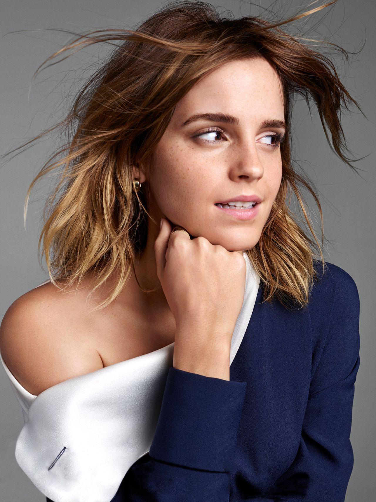 Les célébrités qui rock extensions Emma Watson Style