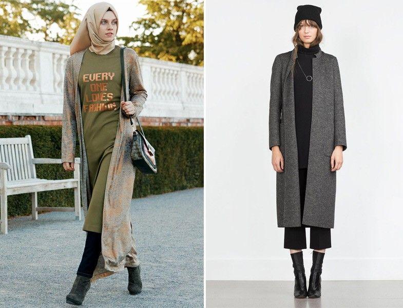 Sonbaharin En Iyi 20 Uzun Hirka Modeli Moda Moda Stilleri Giyim