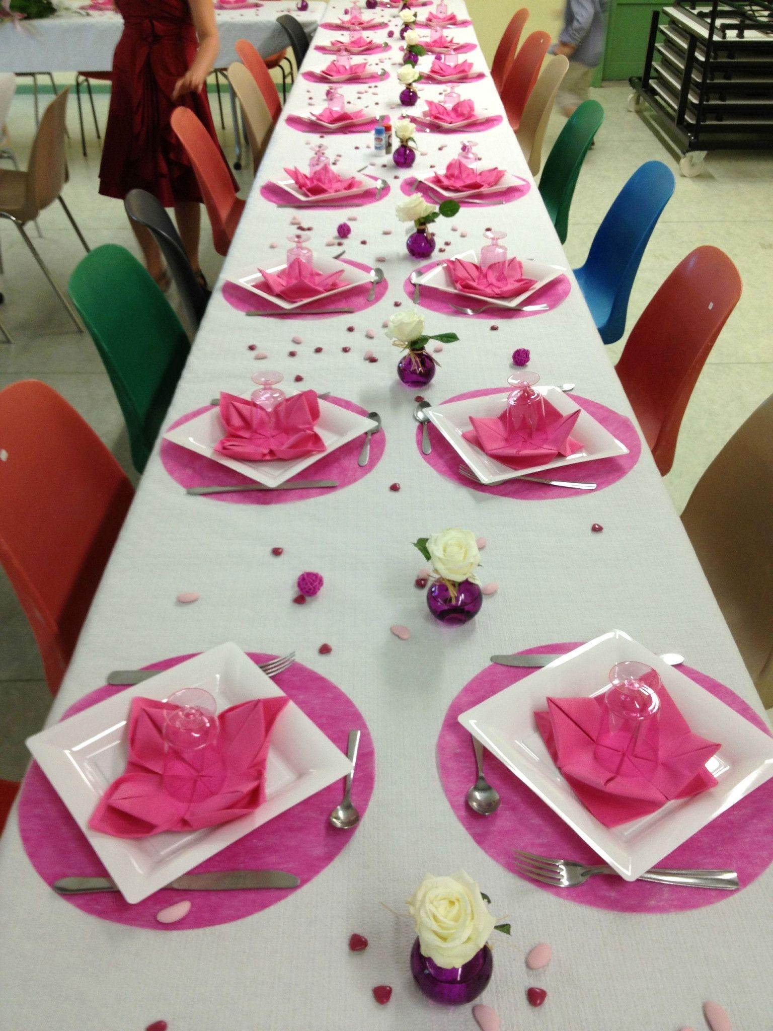 Stunning Idee De Deco Pour Table Bapteme Photos Matkin Info Avec ...