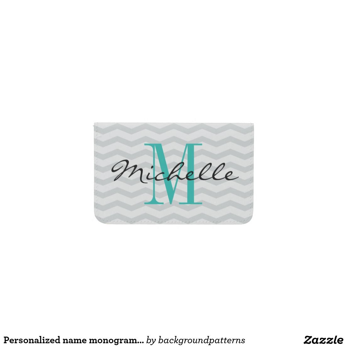 Personalized name monogram business card holder business card personalized name monogram business card holder magicingreecefo Images