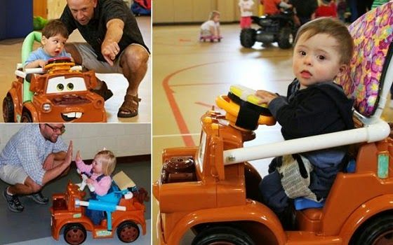 Toys For Handicapped Adults : Diy custom toy car for disabled kids powerwheels and go karts