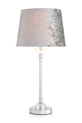 Velvet Table Lamp From The Next Uk Online