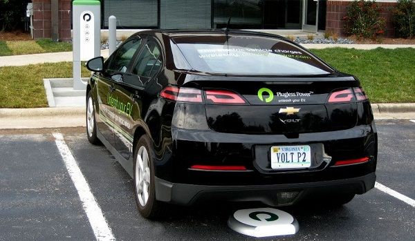 Wireless Ev Charging Ready For Leaf Volt Owners Electric
