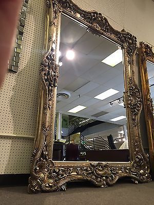 PRESALE Ornate Gothic Baroque Rococo Salon Boutique Floor Wall Mirror