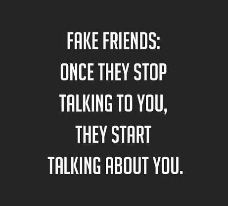 sprüche gegen fake friends