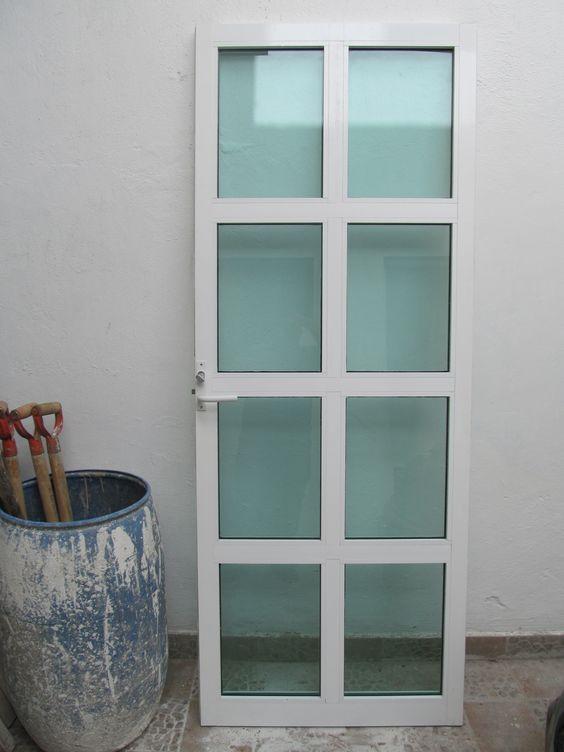 Puerta De Aluminio Casa En 2019 Puertas De Aluminio