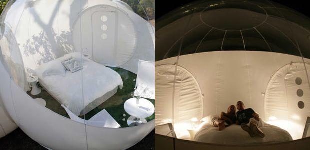 Cool bubble tent