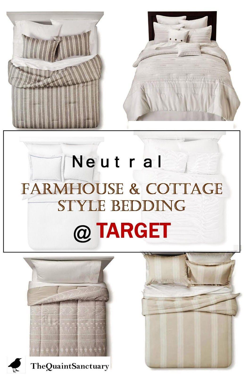 Farmhouse style neutral farmhouse bedding farmhouse
