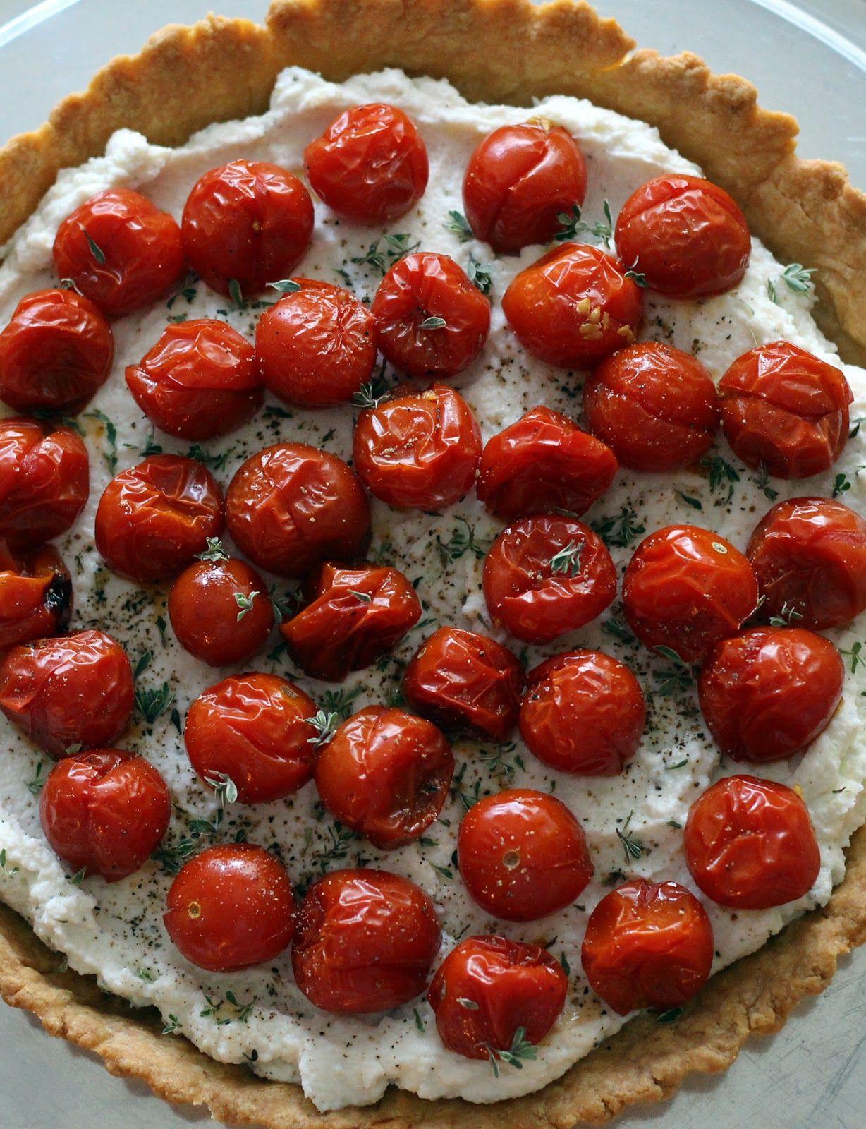 Tomaattipiirakka / Kipparin morsian #resepti .