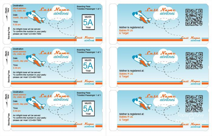 Ashlee Marie Free Airplane Party Printables invitations food