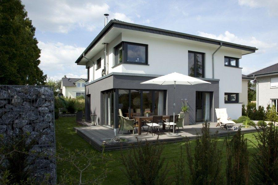 Stadtvilla modern mit anbau  fassadengestaltung modern - Google-Suche | Hausfassade | Pinterest ...