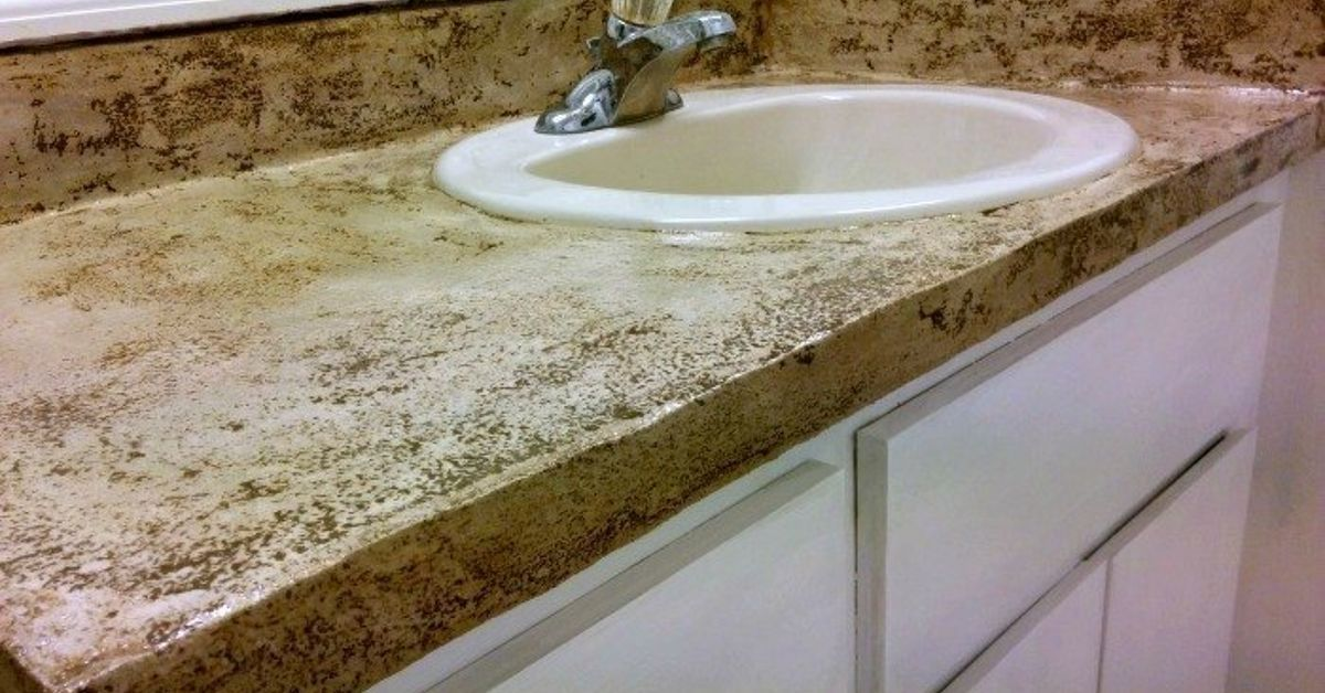11 low cost ways to replace or redo a hideous bathroom on replacement countertops for bathroom vanity id=61926