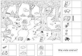 Bildergebnis für herbst im kindergarten arbeitsblätter | ovi in 2018 ...