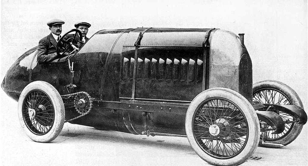 1909 Fiat - The Monster | The Old Motor | auto | Pinterest | Fiat ...