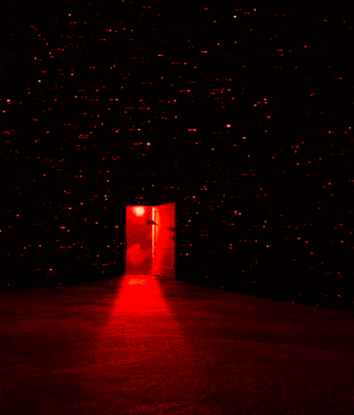 Doorway Tumblr Aesthetic Colors World Of Color Red Wallpaper