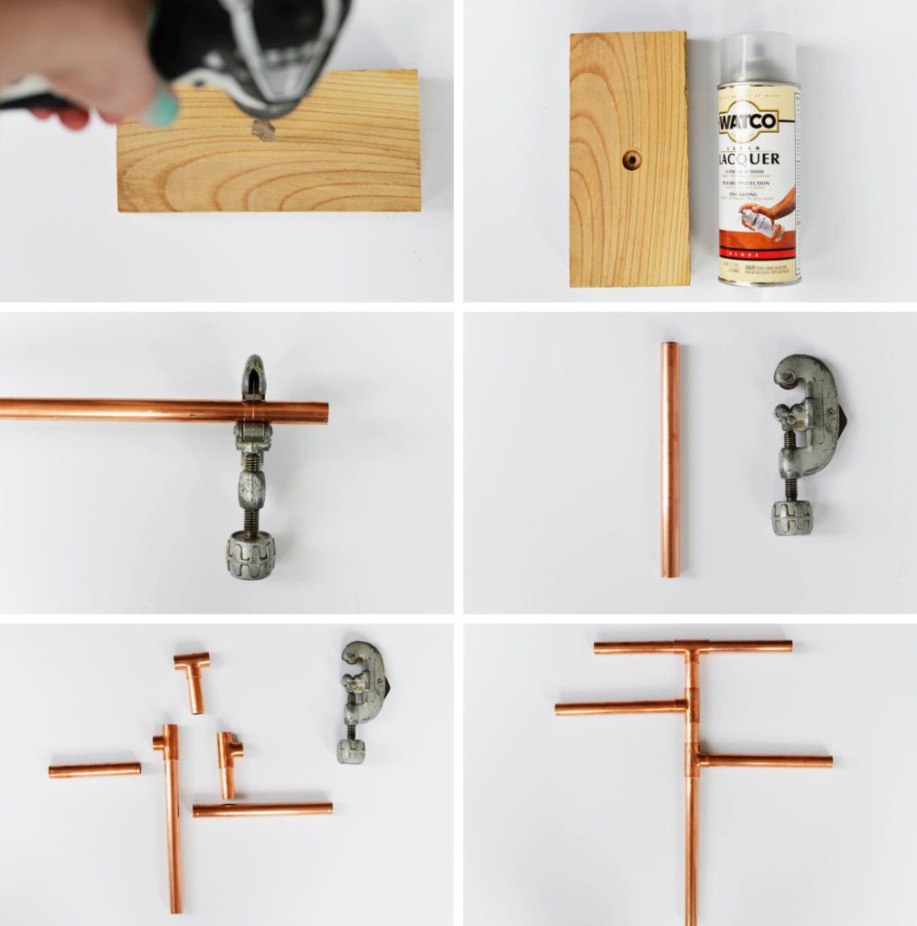 diy copper pipe jewelry stand | jewelry stand, pipes and clothing