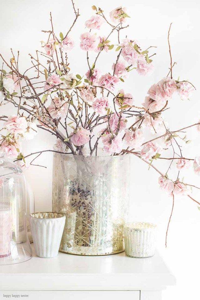 DIY Paper Flowers Tutorial | How to Make Paper Flowers - Happy Happy Nester #easypaperflowers
