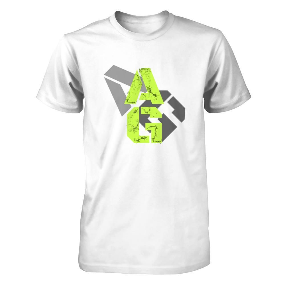 Activ Grit Tee- Neon Grunge