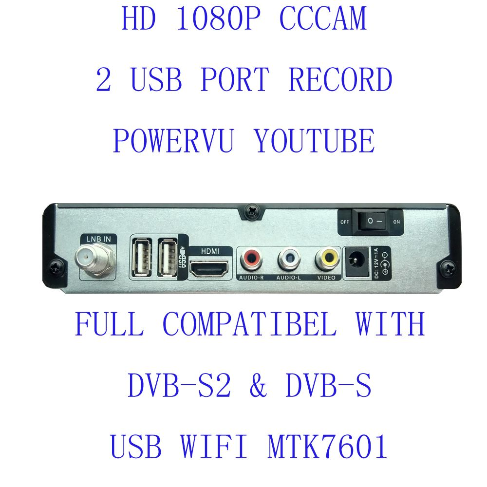 Sale Hd A800 Free Shipping Set Top Box Satellite Receiver Dvb S2 1080p Hd Satellite Tv Decoder You Tube Hd Set To Satellite Receiver Satellite Tv Satellites