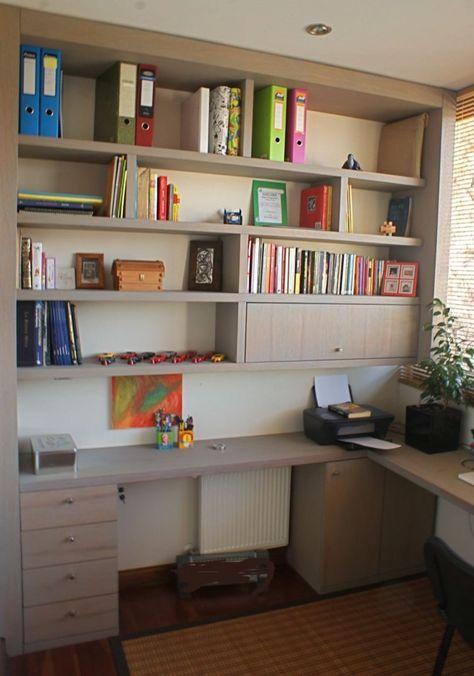 Mueble escritorio mural para casa escritorio en 2019 - Mueble escritorio moderno ...