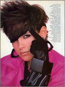 US Vogue March 1985 : Alexa Singer by Richard Avedon - the Fashion Spot