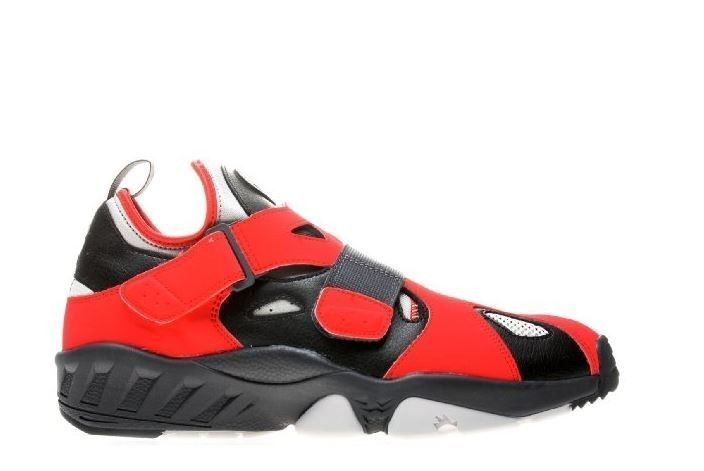 Nike Air Trainer Huarache 94 Red Black Grey 554991001 Rare Shoes Size 10 US