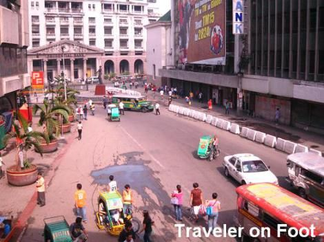 Avenida Rizal Traveler On Foot Rizal Travel