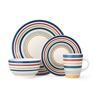 Shop for Pfaltzgraff Morocco 16pc Stoneware Dinnerware Set . Free Shipping on orders over $45 at  sc 1 st  Pinterest & Shop for Pfaltzgraff Morocco 16pc Stoneware Dinnerware Set . Free ...