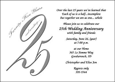 pin by shauna smith on 25 anniv ideas | pinterest | 25th, Wedding invitations